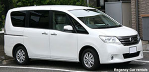 7seated Nissan Serena